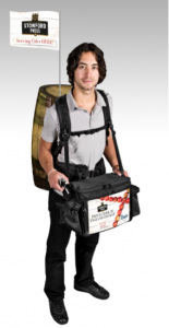 Stowford Press Beer Barrel Mobile Vendor Drinks Backpack by Thirst Solution