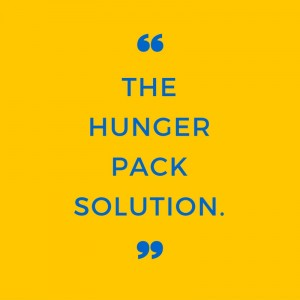 Mobile vending food packs 'Hunger Packs' by Thirst Solution