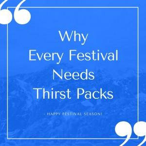 Why Festivals Need Thirst Pack Mobile Vending Backpacks