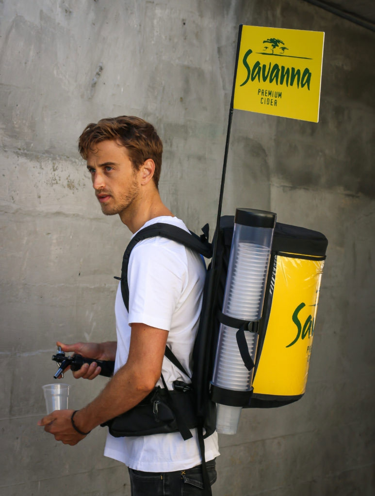 vending backpack